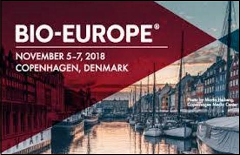 Bio-Europe 2018 Copenhagen