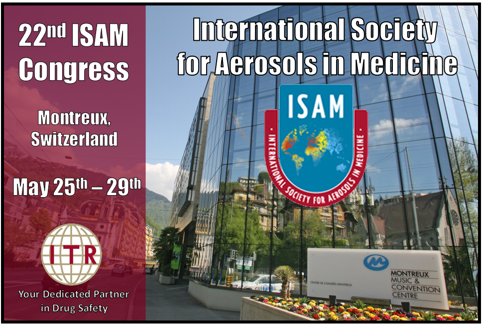 International Society for Aerosols in Medicine 2019 Montreux Switzerland