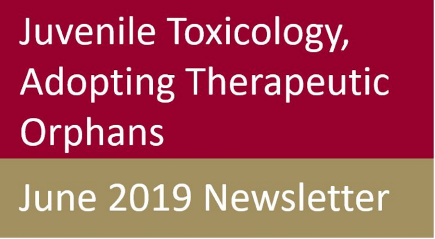 ITR Laboratories June 2019 Newsletter Cover - Juvenile Toxicology